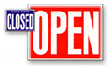 Picture for category Open and Close Signs